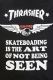 THRASHER TH5786S S/S Shirt BLK
