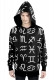 KILL STAR CLOTHING ZODIAC ZIP HOODIE [B]