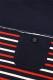 ANIMALIA AN17S-CS01 PORT TOWN 8/10Sleeve NAVYxBORDER