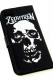 Zephyren (ゼファレン) FLIP iPhone 8 CASE -SkullHead- BLACK