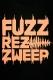 FUZZ REZ ZWEEP 1st LOGO TEE(2017 ver.) -BK-