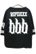 RIP DESIGN WORXX FOT BALL BIG T-SHIRT BLACK