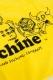 TOY MACHINE TMS18TW36 TOWEL YELLOW