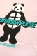 RIP DESIGN WORXX グレイヴメイカーパンダTシャツ PINK