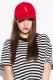 【予約商品】 MUSIC SAVED MY LIFE (MSML) CAP RED