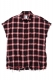 MUSIC SAVED MY LIFE (MSML) GRUNGE SHIRT RED