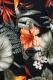 VIRGO VG-JKT-189 U.N.V big aloha summer jkt BLACK