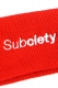 Subciety HEAD BAND RED