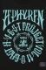 Zephyren (ゼファレン) S/S TEE -THORN CROSS- BLACKxTURQUOISE
