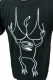 TOY MACHINE Sect Cleavage T-SHIRTS BLK