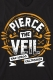 PIERCE THE VEIL Orange Seal Black - T-Shirt