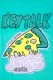 KEYTALK PIZZA T-Shirt Green