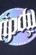 RIP DESIGN WORXX サークルロゴTシャツ BLACK/GRADATION
