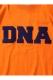 PUNK DRUNKERS DNA.TEE ORANGE