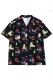 SABBAT13 WEIRD BEACH ALOHA SHIRTS(ブラック)