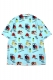 SABBAT13 WEIRD BEACH ALOHA SHIRTS(ミント)