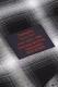 Zephyren BANDANA HOOD SHIRT S/S -DOOR- BLACK CHECK