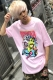 MISHKA SP181308 DEATH FROM ABOVE TEE PINK