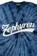 Zephyren(ゼファレン) TIE DYE S/S TEE -BEYOND- NAVY