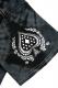 Zephyren(ゼファレン) TIE DYE S/S TEE -REBEL FLAG- BLACK