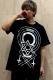【予約商品】DEADHEARTZ Ω(omega) tees BLACK