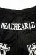 【予約商品】DEADHEARTZ mesh shorts home