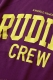 RUDIE'S COLLEGE-T PURPLE