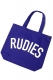 RUDIE'S PHAT TOTEBAG BLUE
