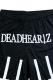 【予約商品】DEADHEARTZ mesh shorts cross