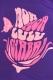 モーモールルギャバン 復活ツアーTシャツ ロゴ ピンク
