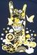 モーモールルギャバン 【Tour2015】ハンドTシャツ ネイビー