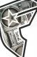 FAMOUS STARS AND STRAPS (フェイマス・スターズ・アンド・ストラップス) BOOMBOX BOH TEE WHITE