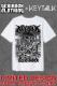 【ゲキクロ限定】KEYTALK × ゲキクロ スペシャル・コラボTシャツ 2018 WHITE / BLACK