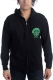 DROPKICK MURPHYS Drinking Skeleton Cross Zip Hood
