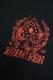 Zephyren(ゼファレン) S/S TEE -SPADE FLAME- BLACKxRED