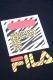 FILA FM9489 GRAPHIC T-SHIRT BLACK