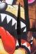 SPRAY GROUND LOONEY TUNES TAZ SHARK