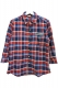 SQUARE 4/3 CHECK SHIRTS RED CHECK
