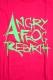 ANGRY FROG REBIRTH logo T-Shirt 2014 spring PINK