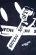 RIP DESIGN WORXX SECRET SMILE BATSU T-SHIRT BLACK