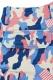 SQUARE CARGO SHORT PANTS CAMO&FLAG