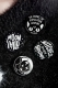 KILL STAR CLOTHING(キルスター・クロージング) Badge Up Pack 3 [B]
