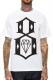 REBEL8 STANDARD ISSUE LOGO WHITE TEE