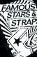 FAMOUS STARS AND STRAPS (フェイマス・スターズ・アンド・ストラップス) ZONE TEE BLACK