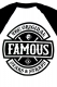 FAMOUS STARS AND STRAPS (フェイマス・スターズ・アンド・ストラップス) CHAOS PATCH RAGLAN