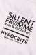 SILLENT FROM ME MUCHINOCHI HYPOCRITE × SILLENTFROMME Collaboration WHITE