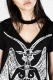 DISTURBIA CLOTHING NEVER KNEEL TEE DRESS