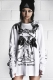 DISTURBIA CLOTHING FTS LONG SLEEVE WHITE
