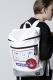THE TEST×beruf baggage - DAYPACK (WHITE)