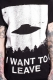 DISTURBIA CLOTHING (ディスタービア・クロージング) I WANT TO LEAVE